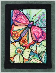 BFC1138 Ching Chou's Stained Glass Butterfly II Thread Kit