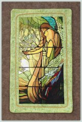 BFC1139 Stained Glass-Tiffany's Guiding Angel