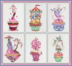 BFC1188 Sally King's Cupcakes Thread Kit