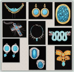 BFC1222 Turquoise Jewelry Thread Kit