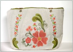 BFC1250 Applique or Not Handbag