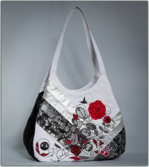 BFC1270 A Touch of Red Handbag