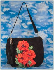 BFC1307 Lush Poppies Handbag