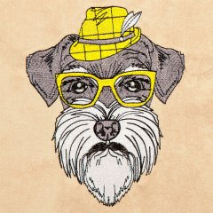 Hipster Canine 2