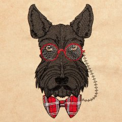 Hipster Canine 4