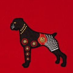 BFC1341 Embellished Dogs - 02
