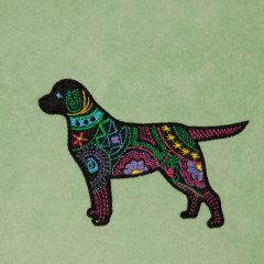 BFC1341 Embellished Dogs - 06