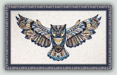 BFC1435 Large Tribal Owl