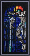 BFC1488 Large Stained Glass Jesus and Mary Thread Kit