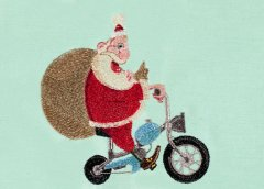 BFC30370 Santa on a Moped