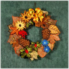 BFC1505 FSL Autumn Wreath Thread Kit