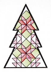 BFC1618 Patchwork Christmas Trees 01