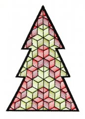 BFC1618 Patchwork Christmas Trees 07