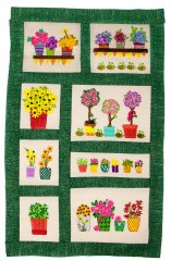 BFC1635 Gardening Quilt Collection - The Flower Shop Window