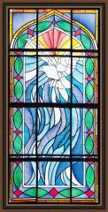 BFC1711 Stained Glass Dove of Peace
