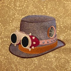 BFC1740 Steampunk Hats -01