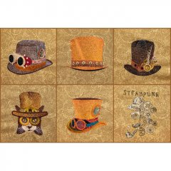 BFC1740 Steampunk Hats