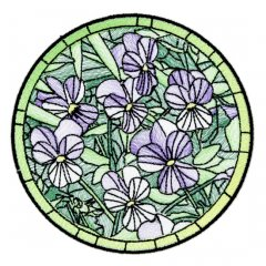 BFC1756 Stained Glass Circles and Frames - 07