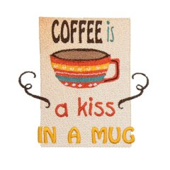 Coffee is a Kiss in Mug