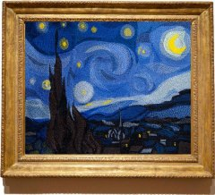 BFC1829 Large Starry Night by Vincent Van Gogh Thread kit