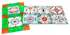 BFC1837 Scandinavian Style Quilt Blocks - Part 1