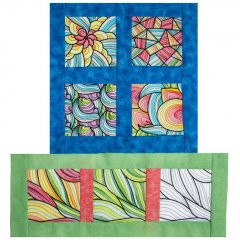 BFC1841 Versatile Colorful Quilt Blocks - Part 2