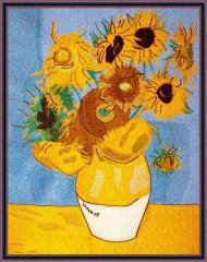 BFC1862 Large Sunflowers by Vincent Van Gogh Thread kit