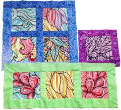 BFC1863 Versatile Colorful Quilt Blocks - Part 4