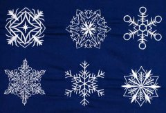 BFC1882 Snowflakes FUNSET