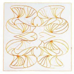 Art Nouveau Ornamental Quilt Blocks 5&6