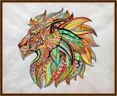 BFC1905 Ethnic Tribal Lion