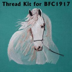 BFC1917 Large Andalusian in the Wind Thread Kit