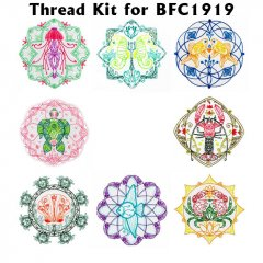 BFC1919 Mandalas from the Sea Thread Kit