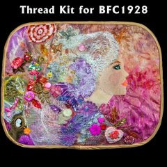 BFC1928 An Embellished Lady Thread Kit