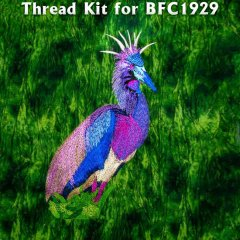 BFC1929 Large Tricolored Heron Thread Kit