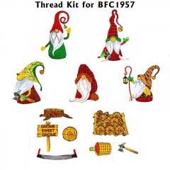 BFC1957 Lumberjack Gnomes Thread Kit