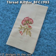 BFC1983 Romantic Vintage Florals Thread Kit