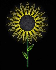 String Art Sunflower