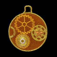 BFC31598 Steampunk Christmas Ornament