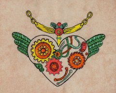 BFC31606 Steampunk Heart