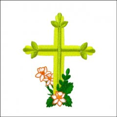 BFC31610 Cross with Daffodils