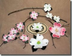 BFC0331  Lace Sculpture - Dogwood