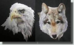 BFC0334 Eagles and Wolves