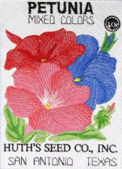 BFC0483 Seed Packets - Flowers 01