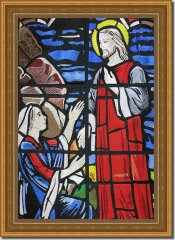BFC0567 Stained Glass - The Resurrection