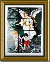 BFC0669 Window - Guardian Angel