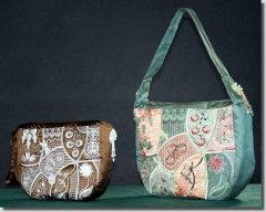 BFC0742 QIH Summer Lace Handbag