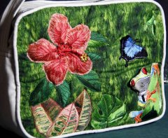 BFC0745 3D Rainforest Fun Handbag
