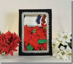 BFC0786 Window - A Poinsettia II