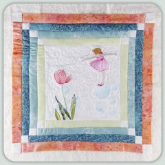 BFC0793 Block 3 of 12 Fairy Land Quilt - The Bubble Fairy